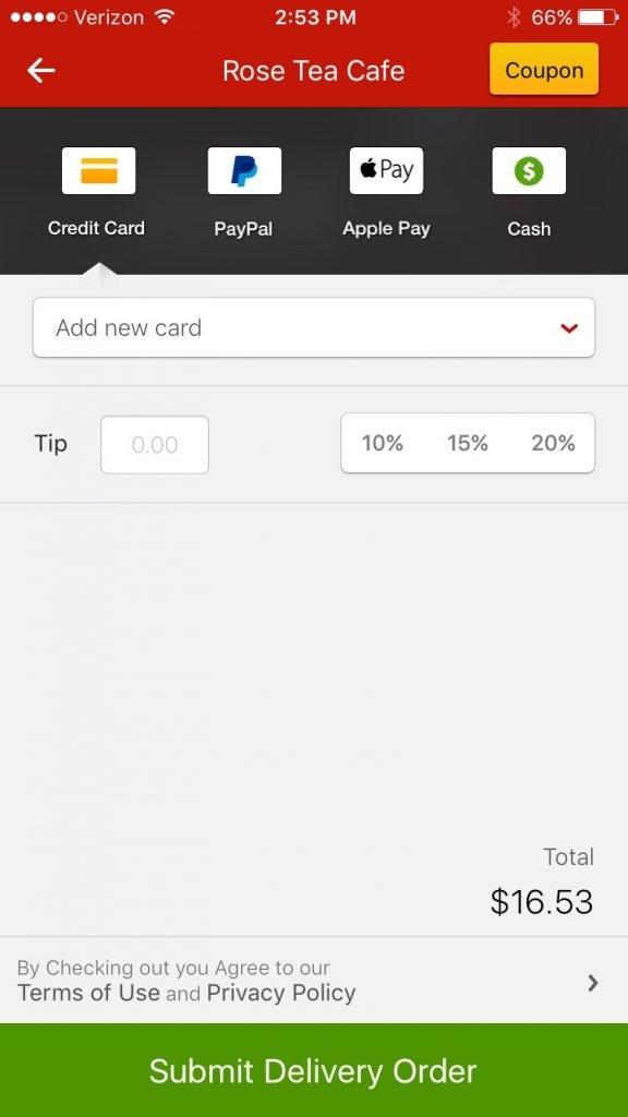 Download Eat24 App