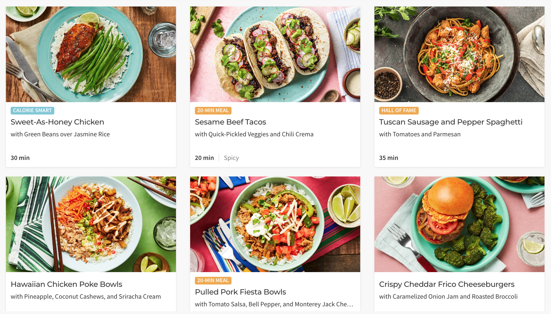 More About Hello Fresh Veggie Meals