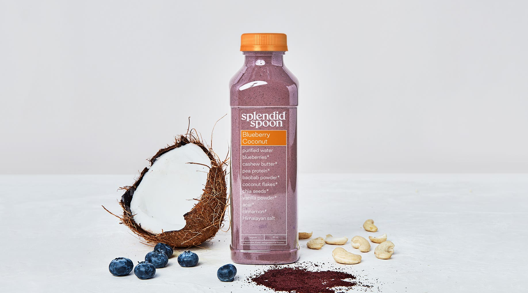 Splendid Spoon Blueberry Coconut Smoothie
