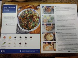 review of blue apron recipes