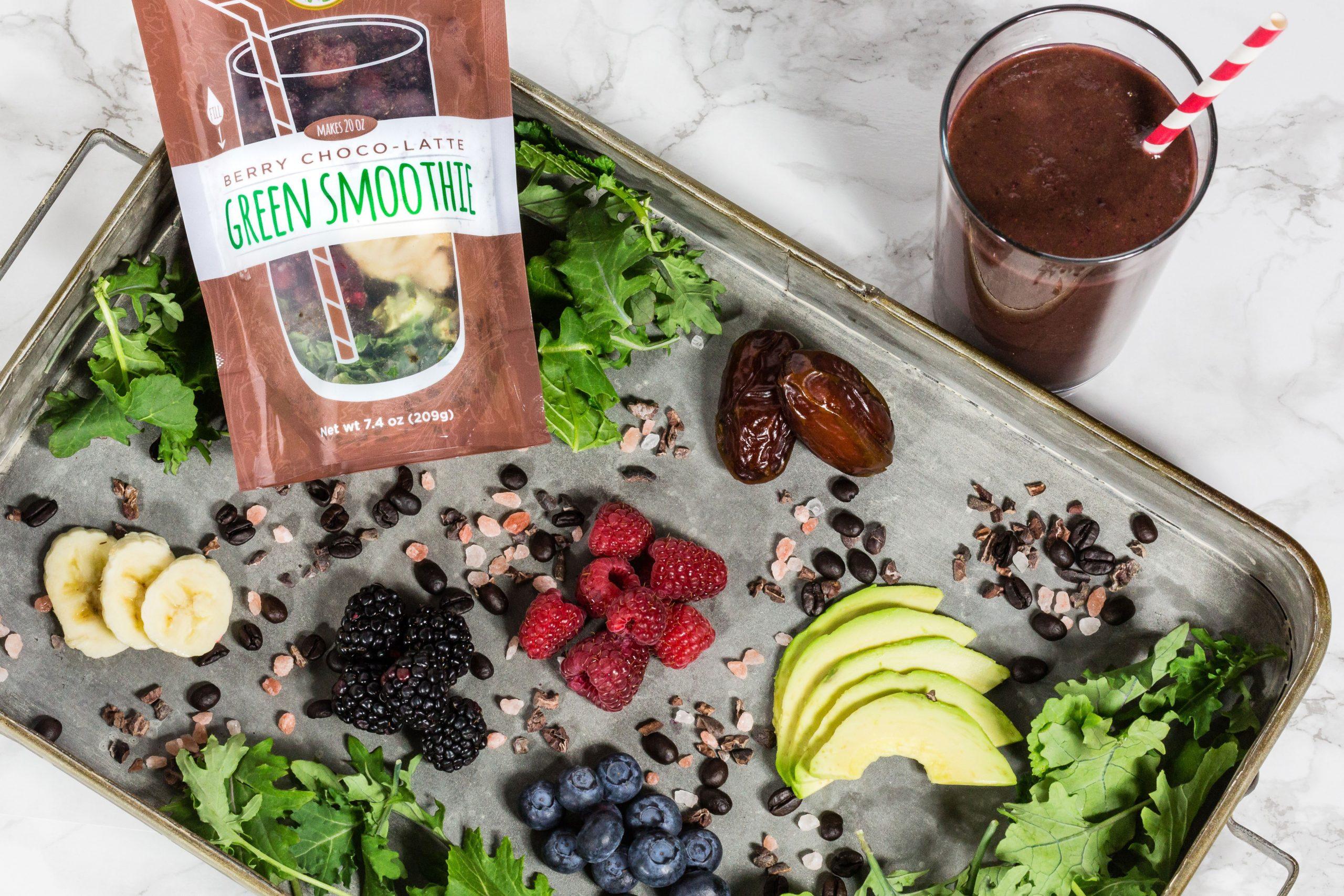 Frozen Garden Berry Choco Latte Ingredients