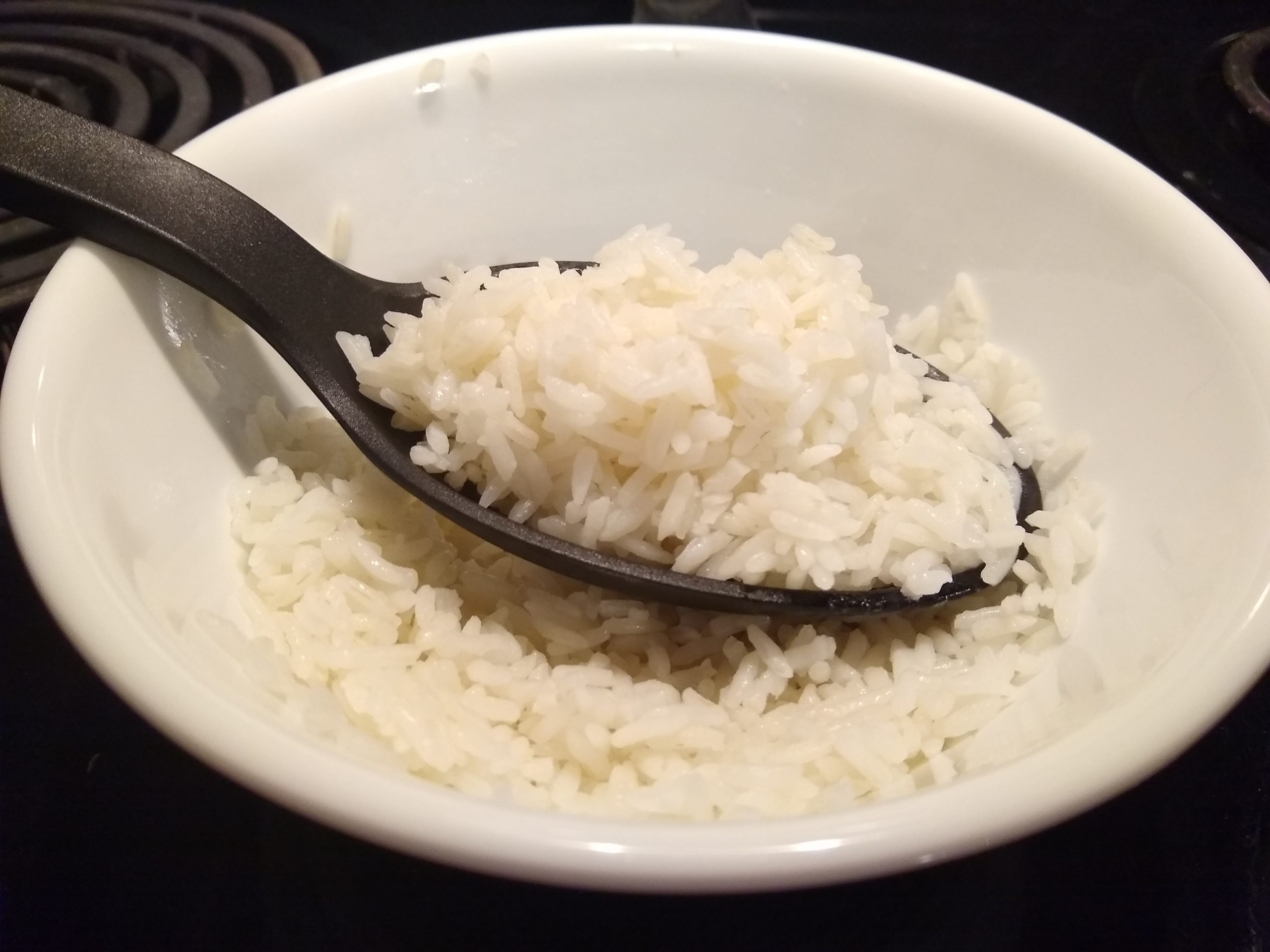 reheating rice in the microwave